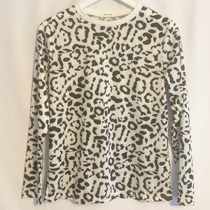 NWOT Blooming Jelly Leopard Print Shirt